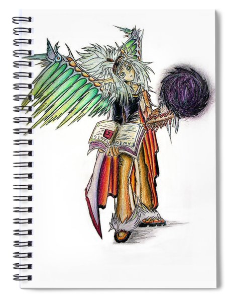Pelusis God Of Law And Order Spiral Notebook