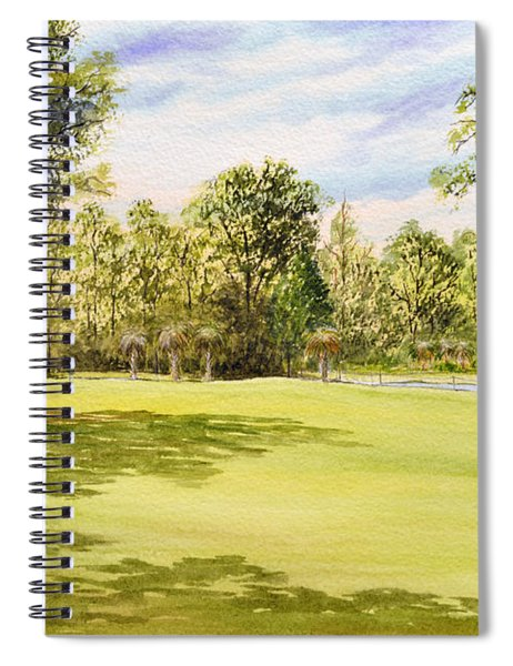 Perry Golf Course Florida Spiral Notebook