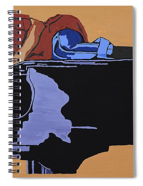 Piano And I Spiral Notebook