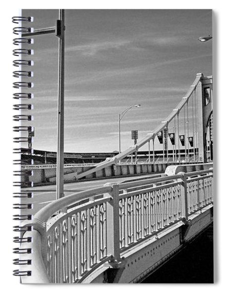 Pittsburgh - Roberto Clemente Bridge Spiral Notebook