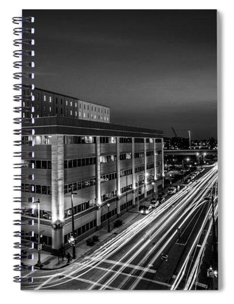 Plankington Streaks Spiral Notebook