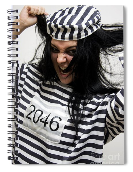 Pleading Insanity Spiral Notebook