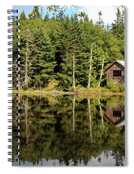 Pond Along The At Spiral Notebook