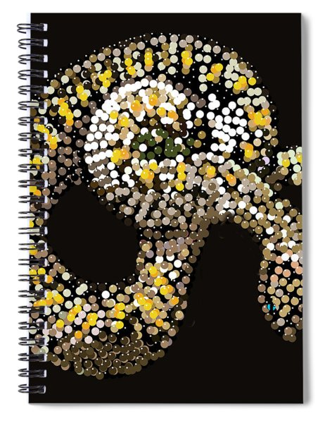 Rattlesnake Bedazzled Spiral Notebook
