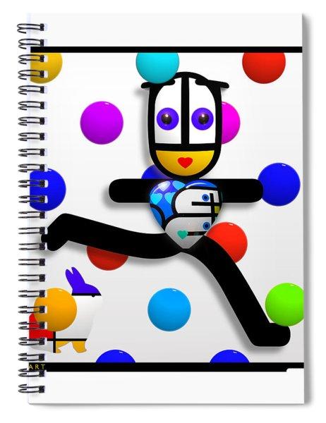 Reign Spiral Notebook