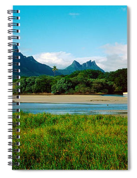 Rempart And Mamelles Peaks, Tamarin Spiral Notebook