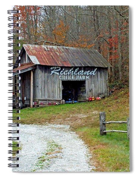 Richland Creek Farm Barn Spiral Notebook