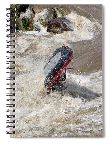 Rio Grande Rafting Spiral Notebook