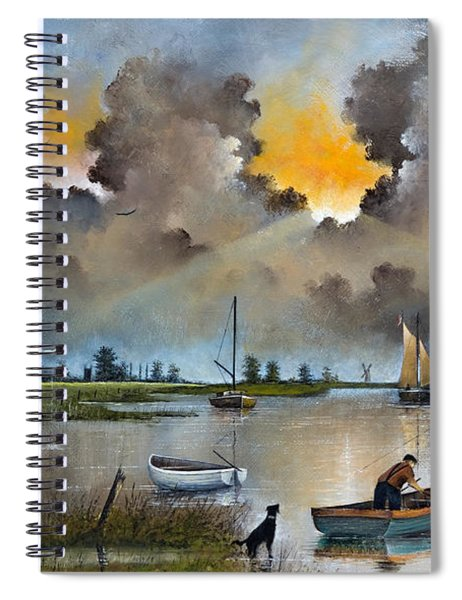 River Yare On The Broads Spiral Notebook