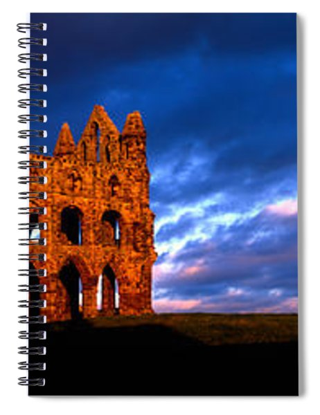 Ruins Of A Church, Whitby Abbey Spiral Notebook
