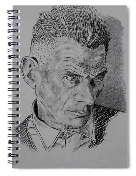 Samuel Beckett Spiral Notebook