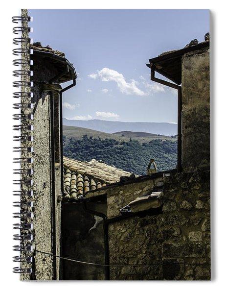 Santo Stefano Di Sessanio - Italy  Spiral Notebook