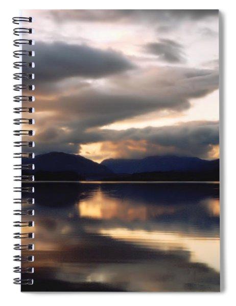Scottish Loch Spiral Notebook