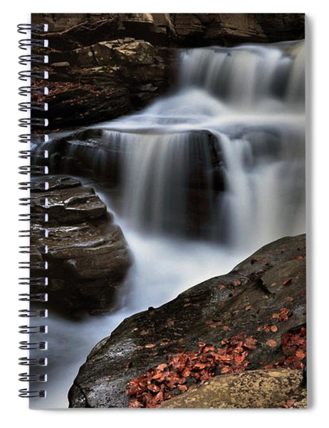 Secret Waterfall Spiral Notebook