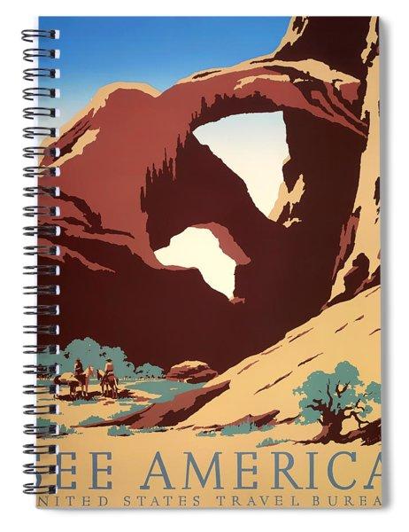 See America 1937 Spiral Notebook