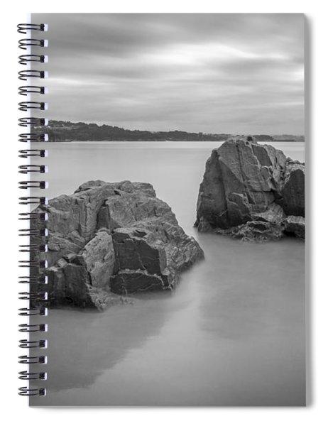 Seselle Beach Galicia Spain Spiral Notebook