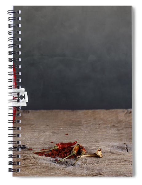 Sharp Chili Spiral Notebook