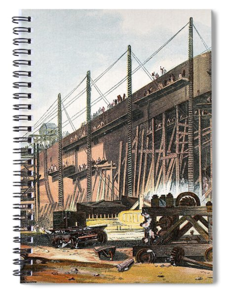 Ships Great Eastern Spiral Notebook