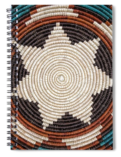 Southwestern Basket Detail Spiral Notebook
