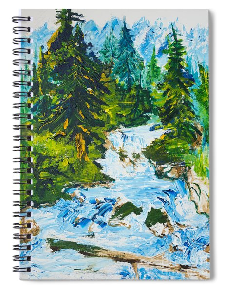 Spring Run-off Spiral Notebook