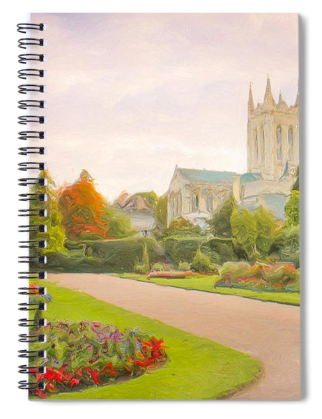 St Edmundsbury Cathedral Spiral Notebook