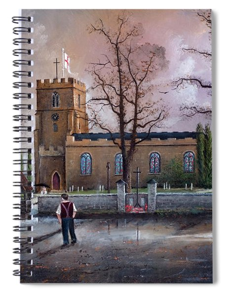 St Marys Church - Kingswinford Spiral Notebook