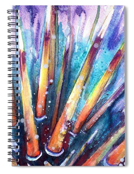Spine Of Urchin Spiral Notebook