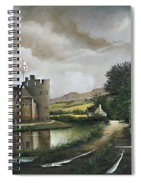 Stokesay Castle Spiral Notebook