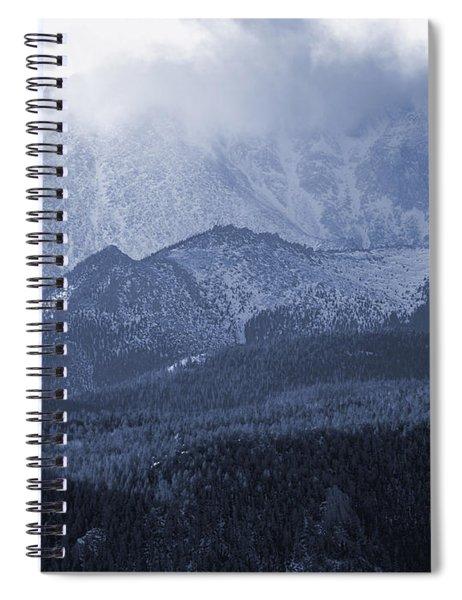 Stormy Peak Spiral Notebook