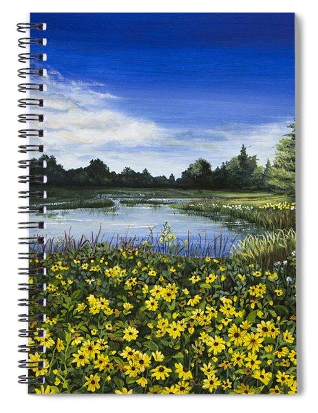 Summer Susans Spiral Notebook