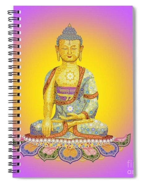 Sun Buddha Spiral Notebook
