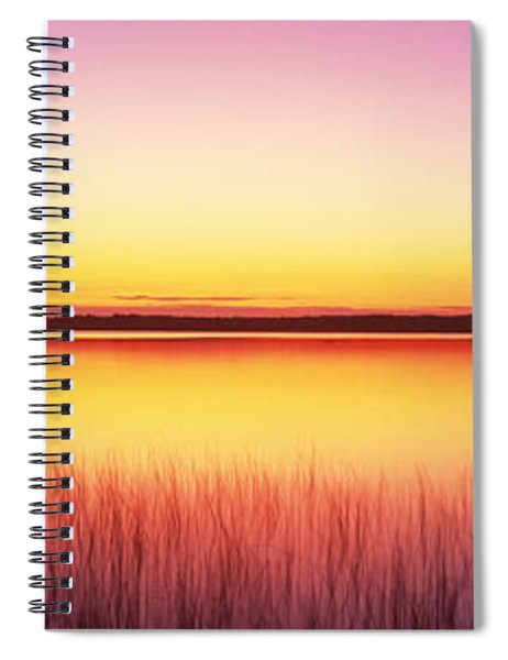 Sunrise Lake Michigan Door County Wi Spiral Notebook