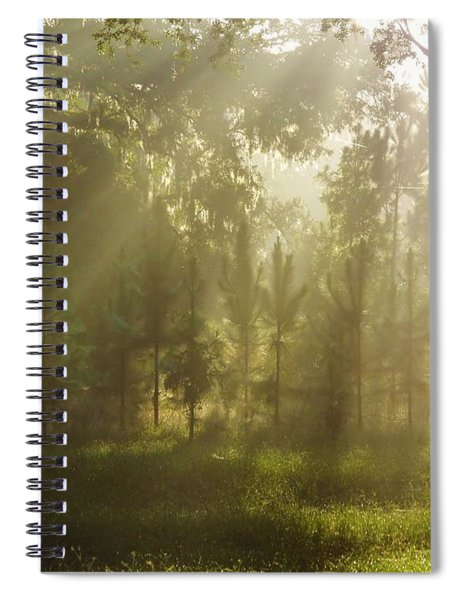 Sunshine Morning Spiral Notebook