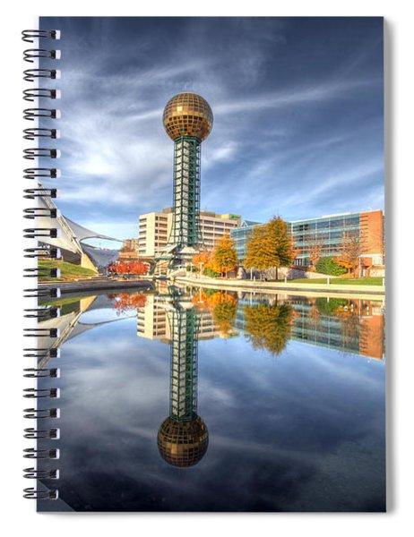 Sunsphere Spiral Notebook