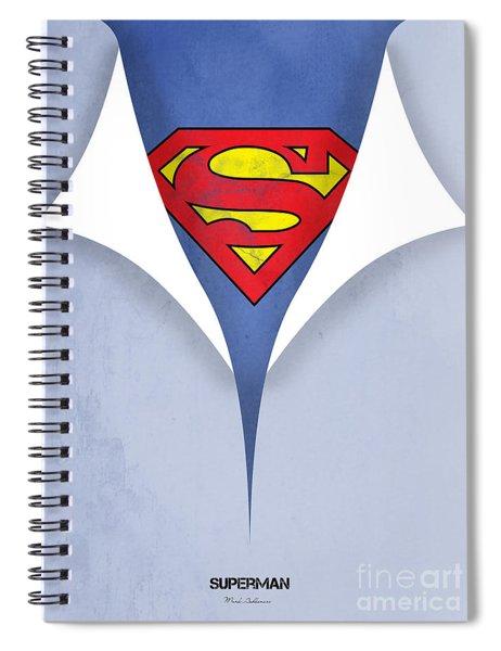 Superman 9 Spiral Notebook