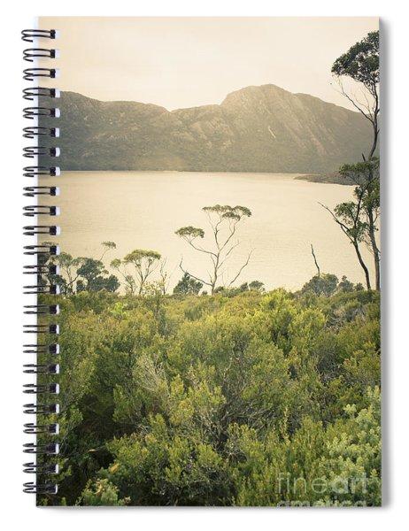 Tasmania Mountain Range Landscape Of Dove Lake Spiral Notebook