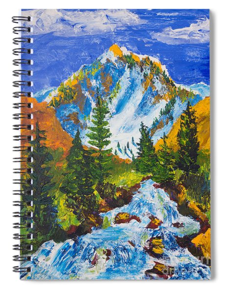 Taylor Canyon Run-off Spiral Notebook
