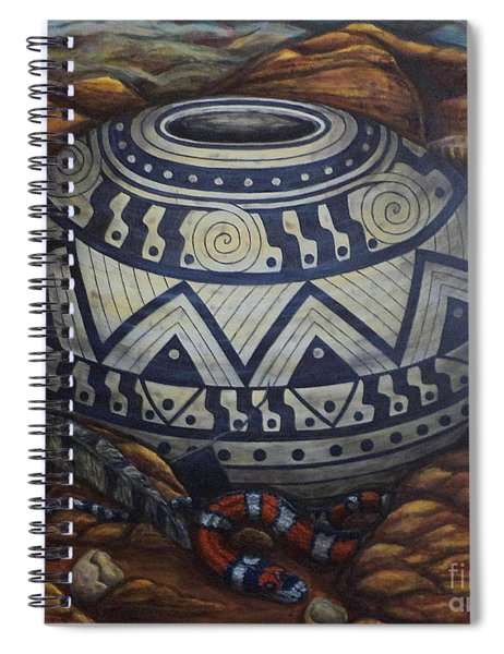 Temptations Spiral Notebook