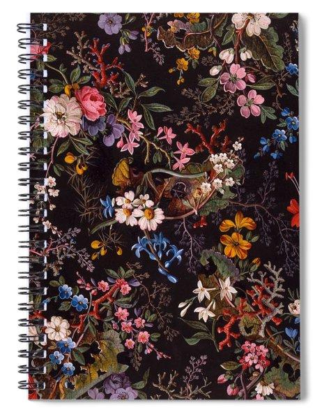 Textile Design Spiral Notebook