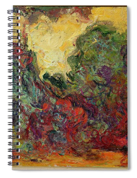 The Artists House From The Rose Garden, 1922-24 Oil On Canvas Spiral Notebook