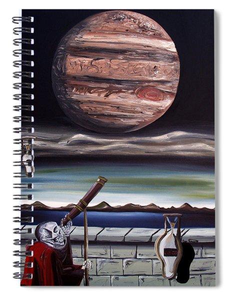 The Eternal Staring Contest Spiral Notebook