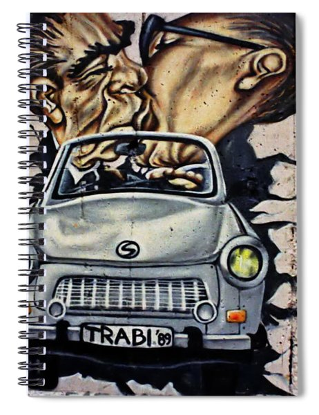 The Famous Kiss Spiral Notebook