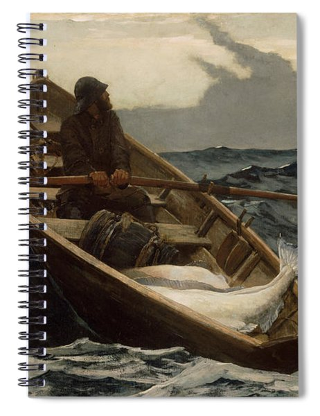The Fog Warning Spiral Notebook