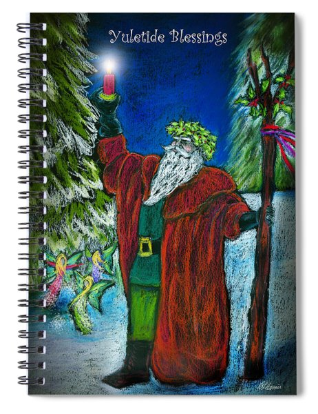 The Holly King Spiral Notebook