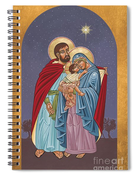 The Holy Family For The Holy Family Hospital Of Bethlehem 272 Spiral Notebook