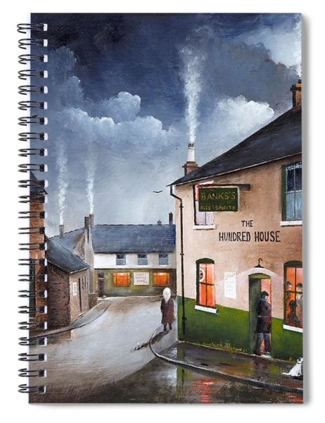 The Hundred House - Lye Spiral Notebook