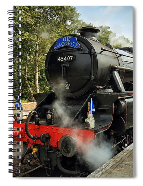 The Jacobite Spiral Notebook