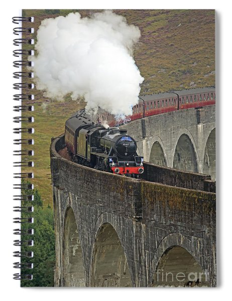 The Jacobite Steam Train Spiral Notebook