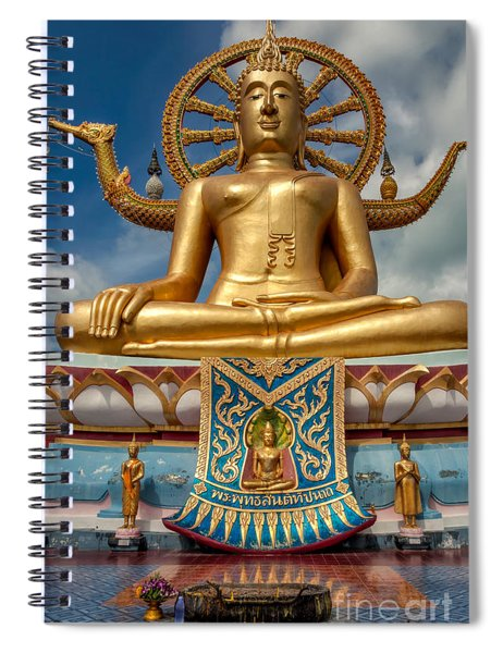 The Lord Buddha Spiral Notebook