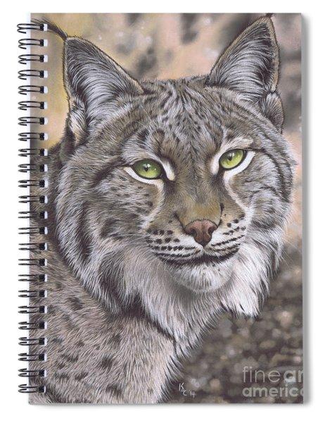 The Lynx Effect Spiral Notebook